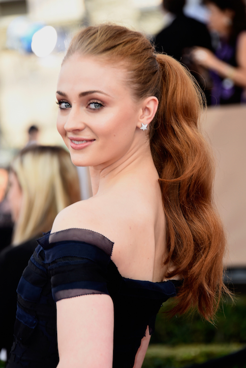 LOS ANGELES, CA - JANUARY 30: Actress Sophie Turner attends the 22nd Annual Screen Actors Guild Awards at The Shrine Auditorium on January 30, 2016 in Los Angeles, California. (Photo by Frazer Harrison/Getty Images)